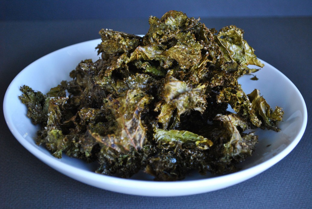 Sweet & Salty Kale Chips