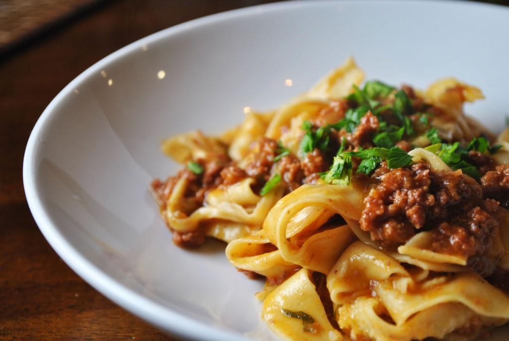Homemade pasta night