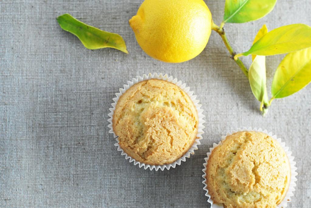 Gluten Free : Lemon-Millet Muffins