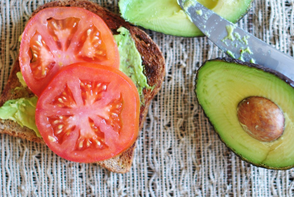 Avocado & Sea Salt Toast