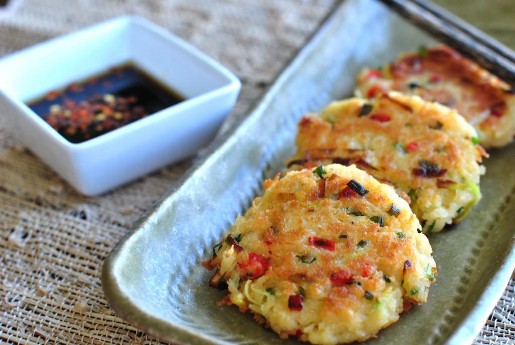 Potato-Leek pancakes