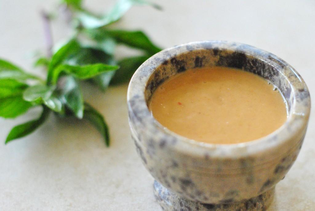 30-seconds Peanut Sauce