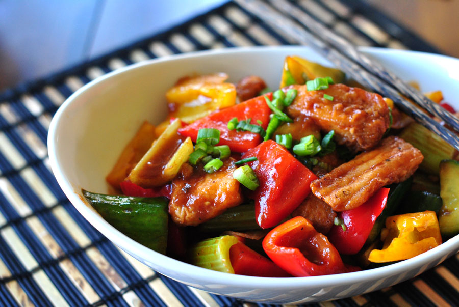 Sweet & Sour Fish (or Tofu)