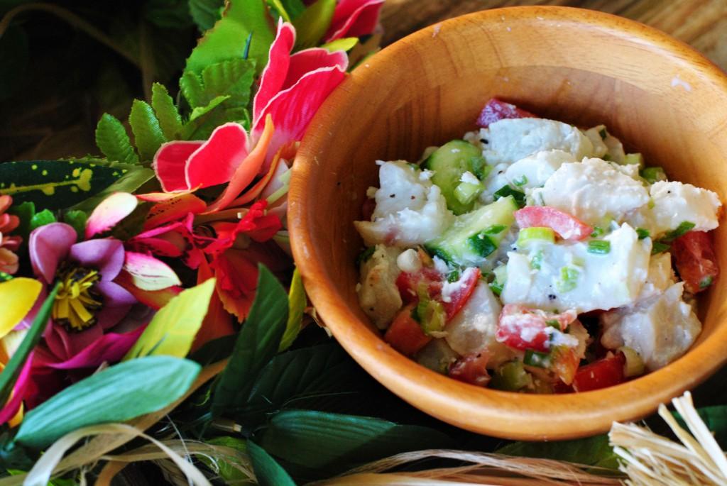 Poisson Cru (Tahiti's national dish)