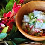 Poisson Cru (Tahiti's signature dish)