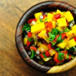 Roasted Red Pepper & Mango Salsa