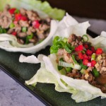 Crispy Asian Turkey Lettuce Wraps
