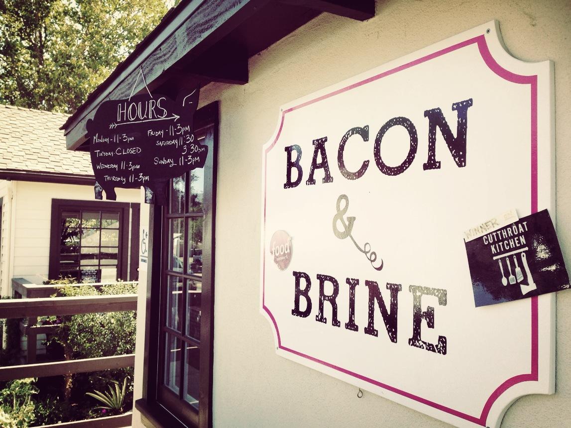 Bacon & Brine